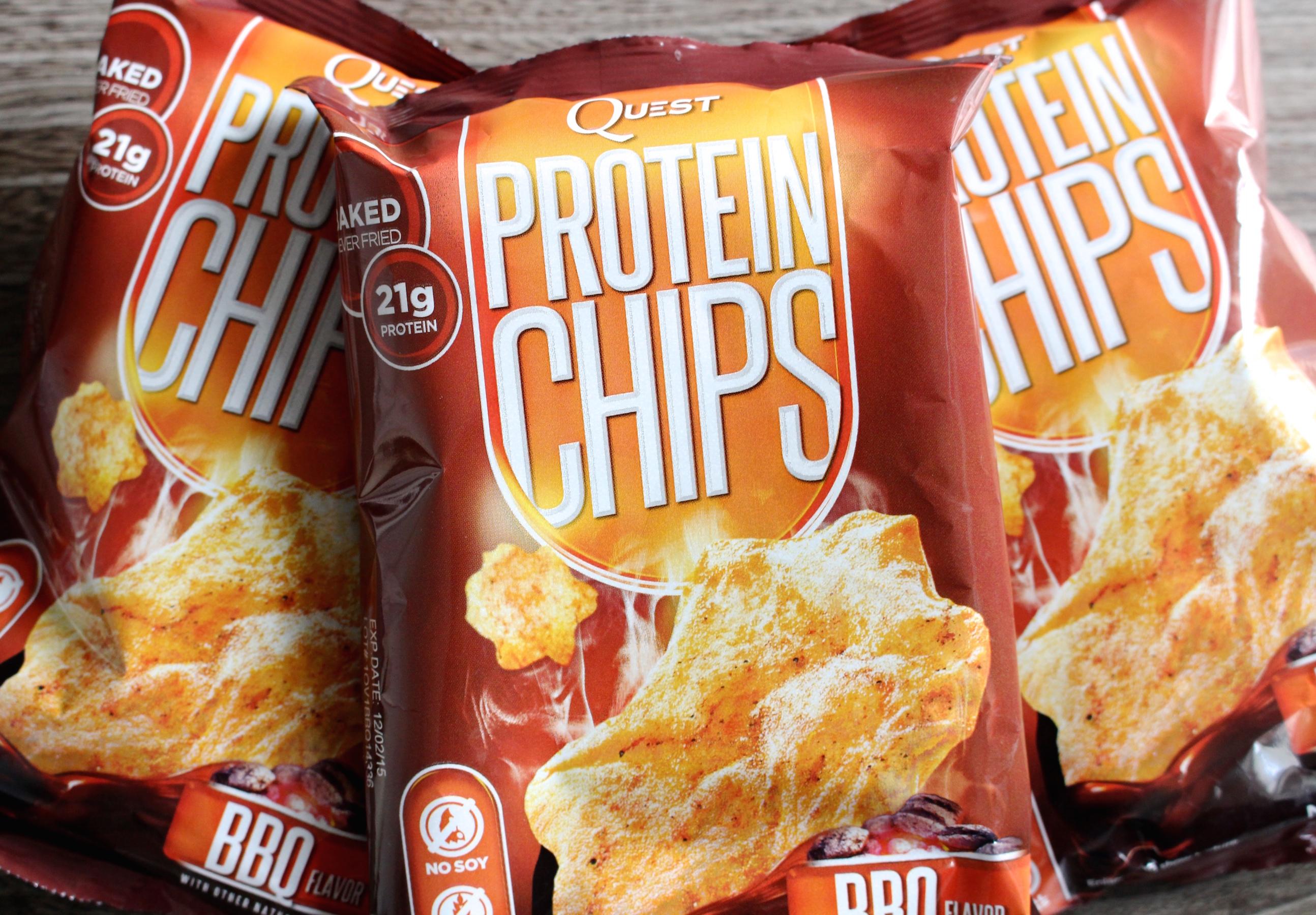Eiweiss Chips BBQ Flavor