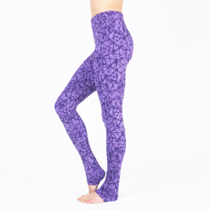 Yoga Leggings Soma in purple