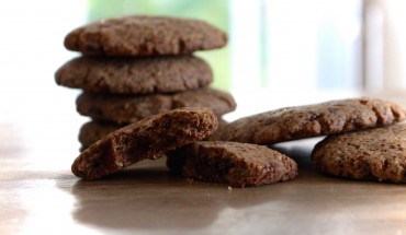 vegane Schoko Cookies Rezept