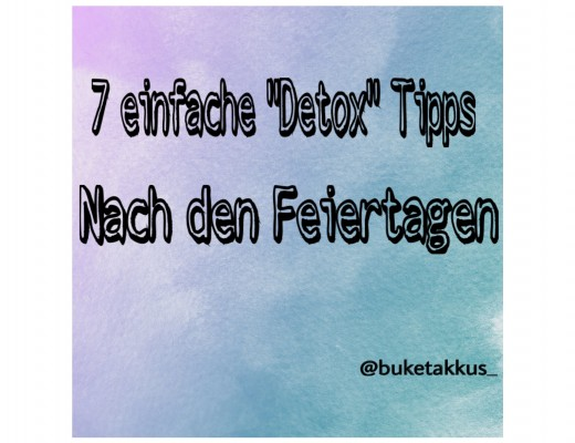 Detox Tipps